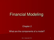 2 - Financial Modeling