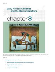 chapter 3. Early African Societies And The Bantu Migrations.docx