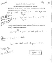 Exam 1 Spring 2009 Solutions