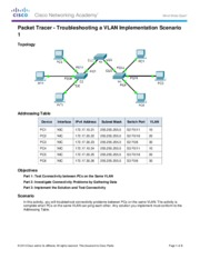 3.2.4.7 Packet Tracer - Troubleshooting a VLAN Implementation - Scenario 1 Instructions.pdf
