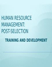 MBA600_HUMAN RESOURCE MANAGEMENT