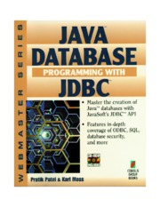 Java Database Programming with JDBC