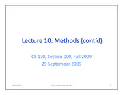 lecture10-methods