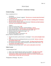Study_Guide Theo 104