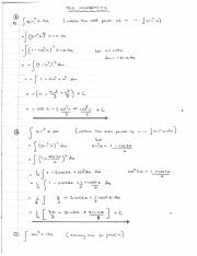 trig integration and substitution and partial fractions