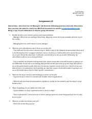 Assignment 2 interview managers.docx