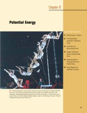 8 - Potential Energy and Conservation of Energy