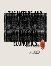 The Nature and Scope of Managerial Economics.pptx