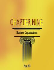 Chapter 9 Business Organizations (2) (1).ppt