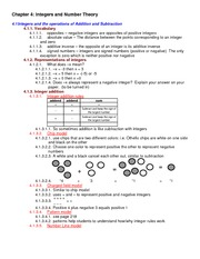 Lecture Notes on Integers and Number Theory
