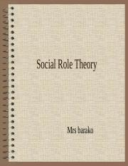 3. Social Role Theory.ppt