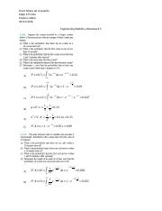 Engineering Statistics Homework 5.docx