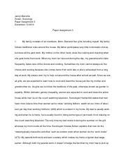 paper assignment 3- sociology