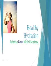 chapter 1 healthy hydration