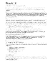 Chapter 12 Discussion Questions Supply Chain Mgmt.docx