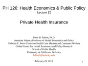 PH126 12. Private Health Insurance 02.26.15b