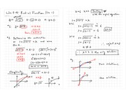 Radical Functions Notes