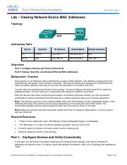 5.1.2.8 Lab - Viewing Network Device MAC AddressesCompleted621.pdf