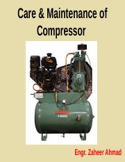 Compressor Maintenance