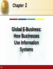 CH 02 Global E-Business How Businesses Use Information Systems.ppt