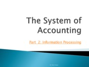 Accounting 2012_2 Information Processing