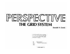 [Drawing Techniques] - Perspective - The Grid System