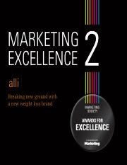 marketing excellence 2 alli case study.pdf