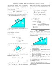 HW 7 Newton Friction-solutions