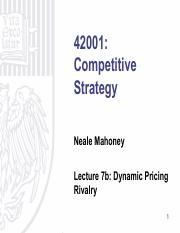 Lecture 7b - Dynamic Pricing Rivalry.pdf