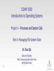 12b-Project 4-4 Managing File System State