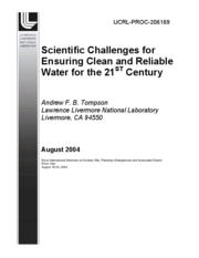 esm223_01_Other_Reading_Water Quality Reliability -- LLNL White Paper - Tompson 2004 -- All