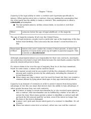 Chapter 7 Notes - Process of Making Contracts.docx