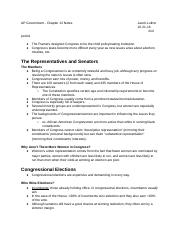 AP Government - Chapter 12 Notes