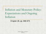 Week 12 - Inflation and Monetary Policy - Expectations and Ongoing Inflation (Chapter 28_ pp. 868-87