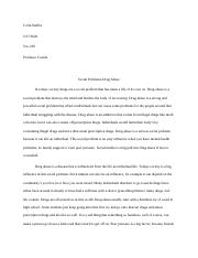T7 Benchmark - Social Problem Final Essay FINISHED.docx