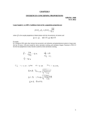 Chapter 9 Review 2008 Solution