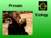 APY107 - Primate Ecology