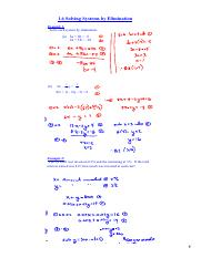 Unit 1 sec 1 6 notes pdf - 1  Example1 (a 3a 2b=5 2a 5b=18 1