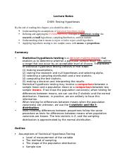 Lecture Notes-CH09