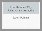 4. Attraction of Relativism