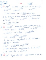 Homework 4.6 and 5.1 Solution