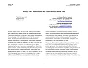 History 186 Syllabus Fall 2013