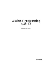 Apress - Database Programing With C Sharp