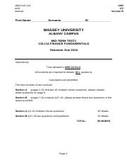 Accounting university of massachusetts course hero 10 pages test 1 version b solutionspdf fandeluxe Image collections
