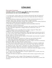 Cesar Chavez Movie Questions - Edwin Garcia Professor Valadez CHI ...