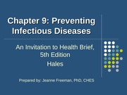 concepts of wellness ch9 preventing infectious diseases