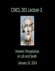 CMCL 301 Lecture 3