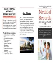 Deliverable 6 - Electronic Medical Record Brochure.docx