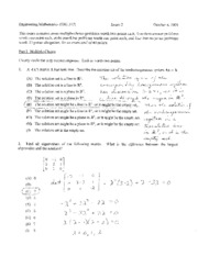 exam 2 fall 2008 solutions