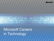 Careers In Technology - Article